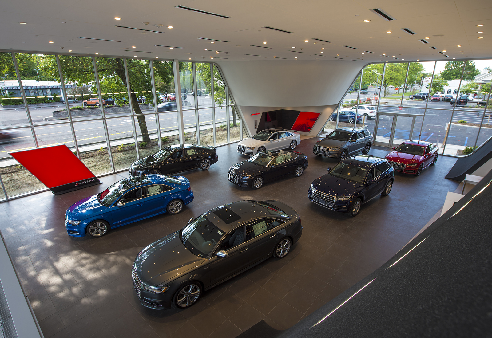 Audi Albany New Showroom and Service Facility Constructor Project